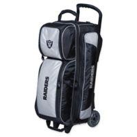 NFL Oakland Raiders Triple Roller Bowling Bag