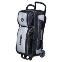 NFL Oakland Raiders Triple Roller Bowling Bag