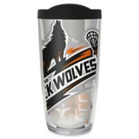 NLL New England Black Wolves 16 oz. Insulated Tumbler with Lid