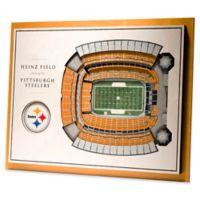 NFL Pittsburgh Steelers 5-Layer StadiumViews 3D Wall Art