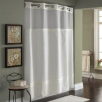 Hookless® Escape 71-Inch x 74-Inch Fabric Shower Curtain and Shower Curtain Liner Set in Ivory