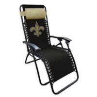 NFL New Orleans Saints Zero Gravity Lounger