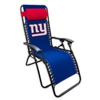 NFL New York Giants Zero Gravity Lounger