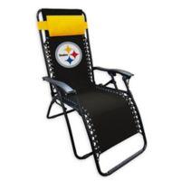 NFL Pittsburgh Steelers Zero Gravity Lounger