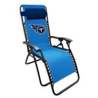 NFL Tennessee Titans Zero Gravity Lounger