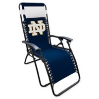 University of Notre Dame Zero Gravity Lounger