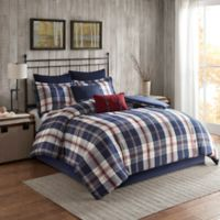 Woolrich Ryland King/California King Comforter Set in Blue