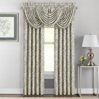 J. Queen New York™ Donatella 84-Inch Rod Pocket Window Curtain Panel Pair in Spa