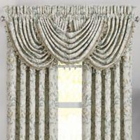 J. Queen New York™ Donatella Waterfall Window Valance in Spa