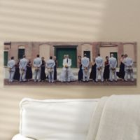 Panoramic Personalized Photo Canvas
