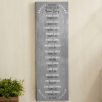 Our Grandchildren Personalized Canvas Print