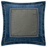 Waterford® Jonet Reversible European Pillow Sham in Indigo