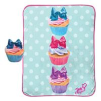 JoJo Siwa™ 2-Piece Cupcake Pillow and Blanket Set