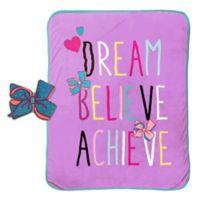 JoJo Siwa™ 2-Piece Dream Pillow and Blanket Set