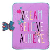 JoJo Siwa™ 2-Piece Dream Pillow and Blanket Set