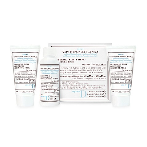 VMV Hypoallergenics SuperSkin Care Starter Kit for Dry Skin