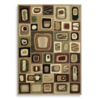 United Weavers Contours Marrakesh 2-Foot 7-Inch x 4-Foot 2-Inch Area Rug in Toffee