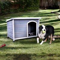Denver Medium Dog House in Grey