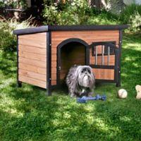 Celine Large Weather Resistant Pet House in Oak