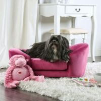 Henry Sofa Pet Bed in Pink