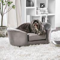Henry Sofa Pet Bed in Grey
