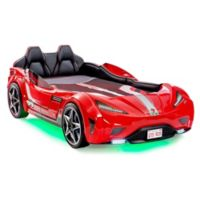 Cilek GTS Race Car Twin Bed in Red