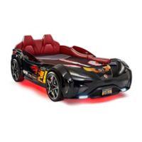 Cilek GTS Race Car Twin Bed in Black