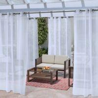 No Se'em 108-Inch Grommet Window Curtain Panel in White
