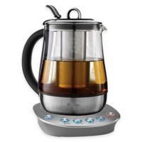 Mr. Coffee® 1.2-Litter Hot Tea Maker and Kettle in Stainless Steel