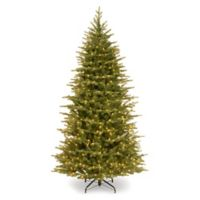 National Tree Company 6.5-Foot Pre-Lit Slim Nordic Spruce Christmas Tree