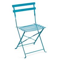Café Indoor/Outdoor Field Chairs in Turquoise (Set of 2)