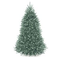 National Tree Company 6.5-Foot Pre-Lit Dunhill Blue Fir Christmas Tree