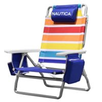 Nautica® 5-Position Beach Chair in Rainbow
