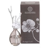 Zodax Illuminaria Butterfly Orchid Porcelain Diffuser in White