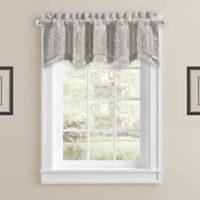 Constantine Scallop Window Valance in Silver