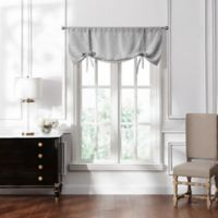 Waterford® Lucinda Window Valance in Grey