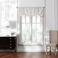 Waterford® Lucinda Window Valance in Ivory