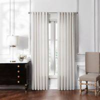 Waterford® Lucida 84-Inch Rod Pocket/Back Tab Window Curtain Panel Pair in Ivory
