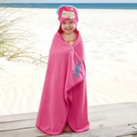 Embroidered Mermaid Kids' Hooded Beach Towel