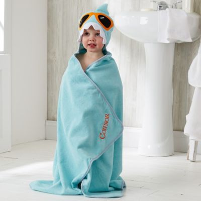 buy kids hooded bath towels from bed bath beyond