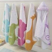 Baby Zoo Personalized Hooded Towel
