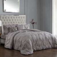 Rory 5-Piece Reversible Queen Comforter Set in Taupe