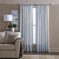 Wamsutta® Sheer 84-Inch Window Curtain Panel in Blue