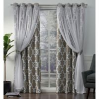 Alegra 96-Inch Grommet Window Curtain Panel Pair in Natural