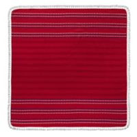 Enchante Home Bondie Square Beach Towel in Red