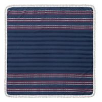 Enchante Home Harlow Square Beach Towel in Blue