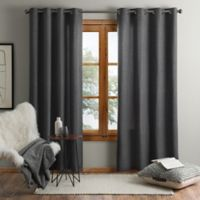 UGG® Olsen 63-Inch Grommet Window Curtain Panel in Charcoal