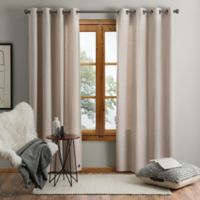 UGG® Olsen 63-Inch Grommet Room Darkening Window Curtain Panel in Oatmeal
