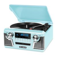 Victrola™ Retro Record Player Stereo with Bluetooth® and USB Digital Encoding
