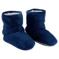 Therapedic® Size Small/Medium Unisex Weighted Slippers in Navy